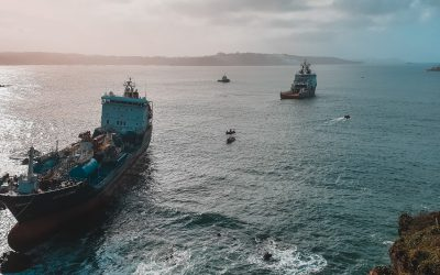 Refloating of Blue Star